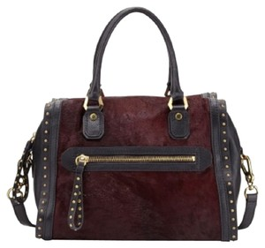 orYANY Satchel in Cabernet