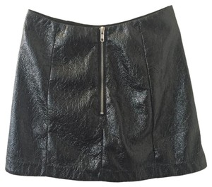 Urban Outfitters Vintage Mini Skirt Black