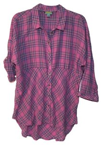 C&C California Button Down Shirt Pink