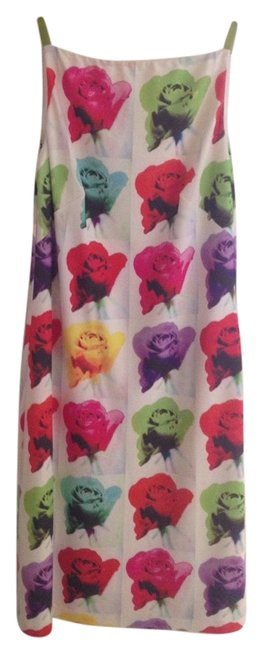 Laundry by Shelli Segal short dress multi Andy Warhol Print Floral Modern Pop Art on Tradesy Image 0
