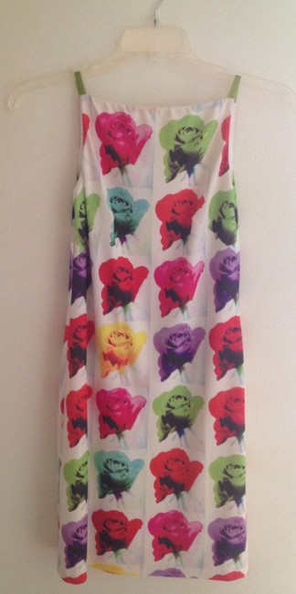 Laundry by Shelli Segal short dress multi Andy Warhol Print Floral Modern Pop Art on Tradesy Image 3