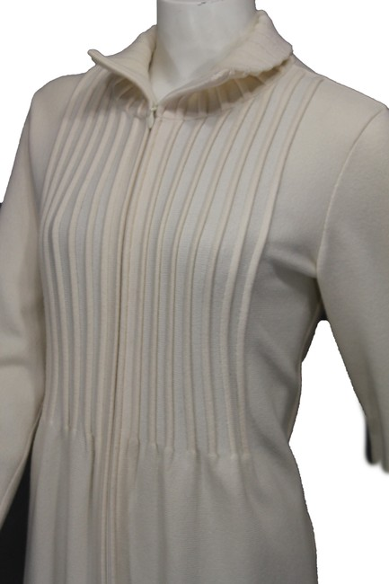Valentino Beige Wool Blend Woven Trench Coat Image 6