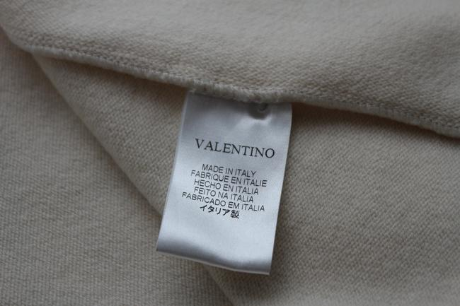 Valentino Beige Wool Blend Woven Trench Coat Image 7