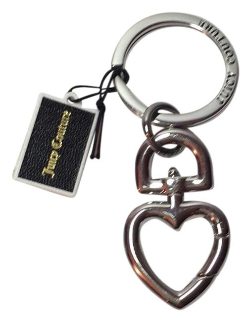 Juicy Couture Silver Purse Charm Key Ring Juicy Couture Silver Purse Charm Key Ring Image 1