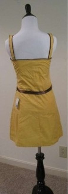 Forever 21 short dress Fall Summer Spring Yellow Date Night Night Out on Tradesy
