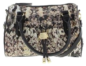 Nicole Miller Satchel in Animal Print