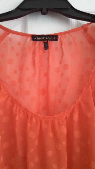 HeartSoul Top Coral