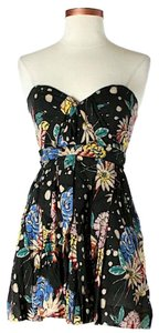 Foley + Corinna short dress Strapless Floral on Tradesy