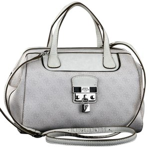 Guess Satchel in Coal