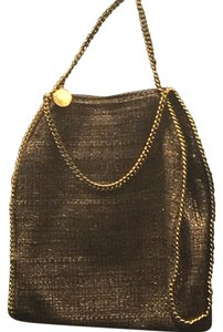 Stella McCartney Tote in beige/gold/light brown,multicolor boucle
