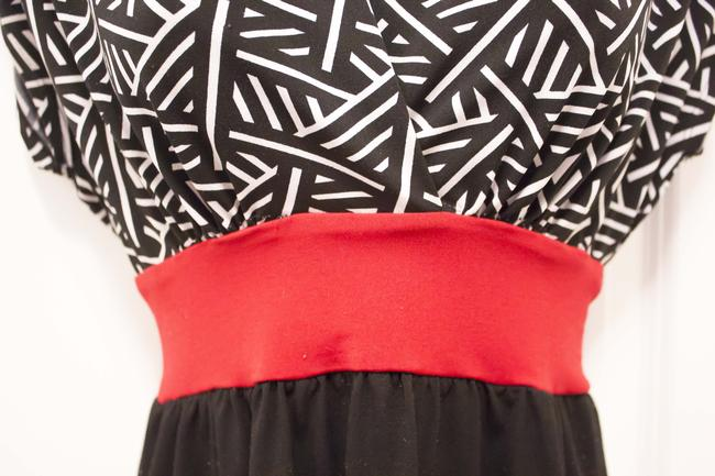 Jonathan Martin Sexy Cute Adorable Vintage Sheer Hipster Chic Hip Trendy Geometric Office Work Work Tunic