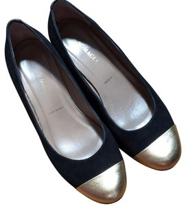 Bruno Magli Black, gold Pumps