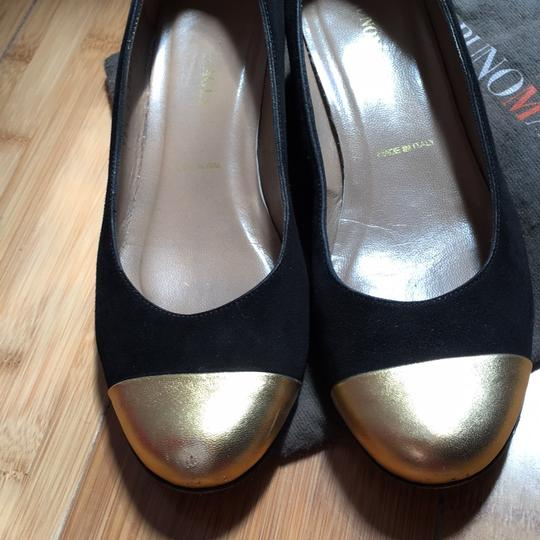Bruno Magli Black, gold Pumps Image 1