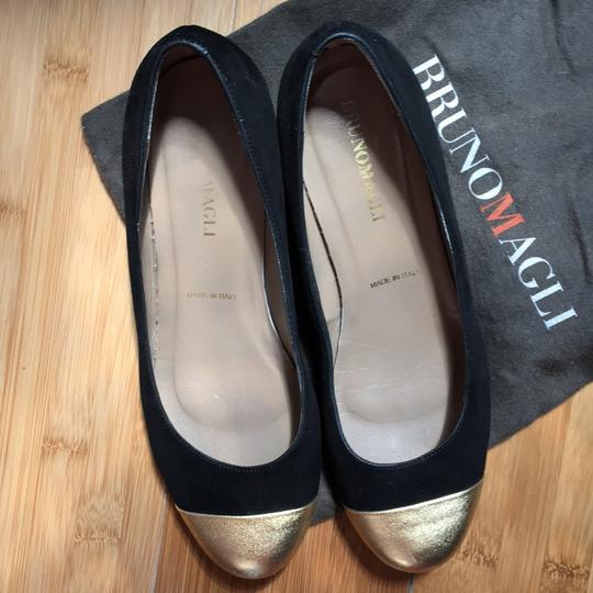 Bruno Magli Black, gold Pumps Image 2