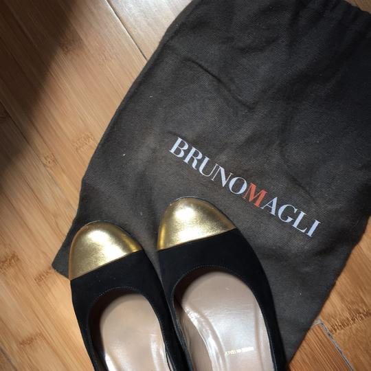Bruno Magli Black, gold Pumps Image 5