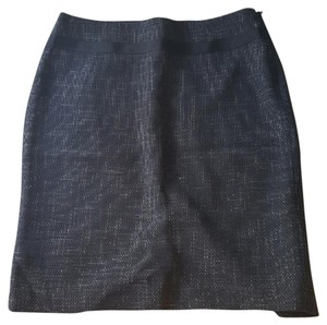 The Limited Pencil Blue Skirt Navy