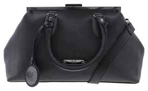 Versace 19.69 Satchel in Black