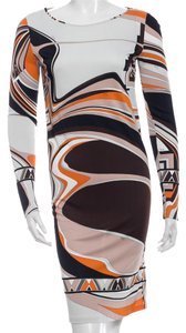 Emilio Pucci Monogram Print Dress