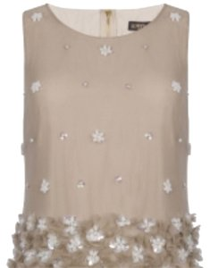SuperTrash Top Cream, nude