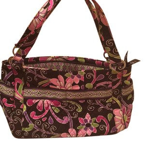 Vera Bradley Tote in Purple Punch