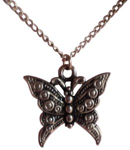 Vintage butterfly necklace