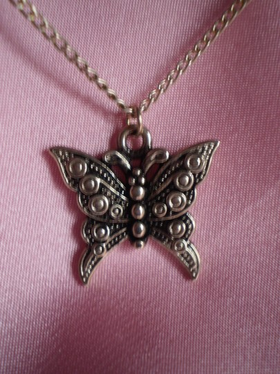 Other Vintage butterfly necklace