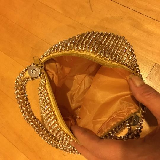 Other Crystal Evening Wristlet in gold Image 2