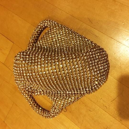 Other Crystal Evening Wristlet in gold Image 7