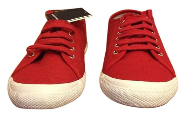 Fred Perry Red Vintage Tennis Canvas Trainer Unisex Sneakers Size US 10.5 Regular (M, B) Fred Perry Red Vintage Tennis Canvas Trainer Unisex Sneakers Size US 10.5 Regular (M, B) Image 1