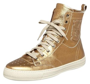 Burberry Sneakers High Top High Top Sneakers Gold Athletic