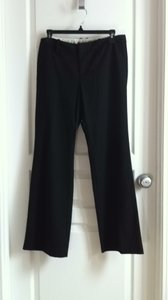 Gap Boot Cut Pants black with white pinstripe