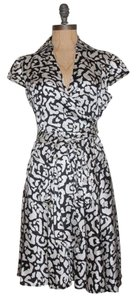 INC International Concepts Silk Charmeuse Wrap Dress