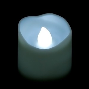 Led Flickering Battery Melted Votive Candle