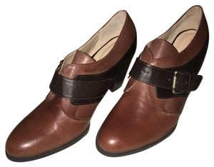 Liz & Co. Black & Brown Combo Mules