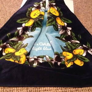 Dolce&Gabbana Dolce & Gabbana large beach towel in the box
