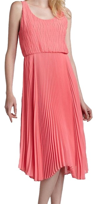 Alice + Olivia Neon Pink C211570602 Knee Length Night Out Dress Size 6 (S) Alice + Olivia Neon Pink C211570602 Knee Length Night Out Dress Size 6 (S) Image 1