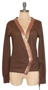 Trosman Art Deco Embellished Cardigan