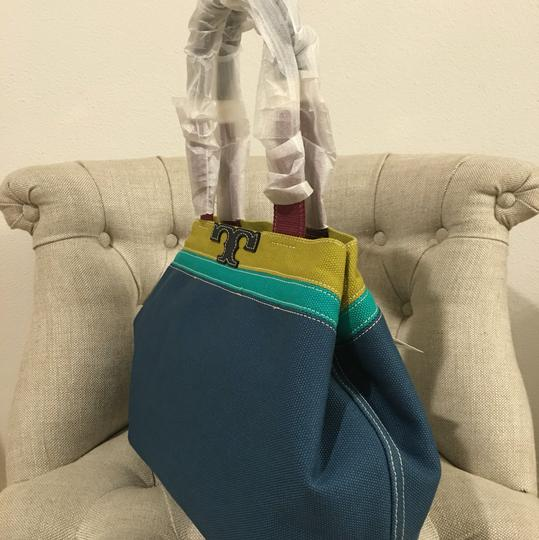 Tory Burch Tote in Blue Jay Image 9