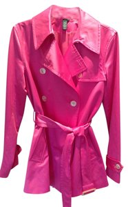 Lauren Ralph Lauren Trench Coat Pink Jacket