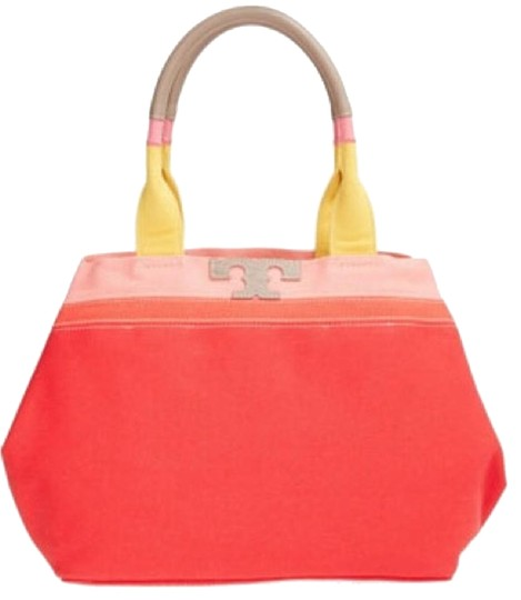 Tory Burch Tote in Vermillion Image 1