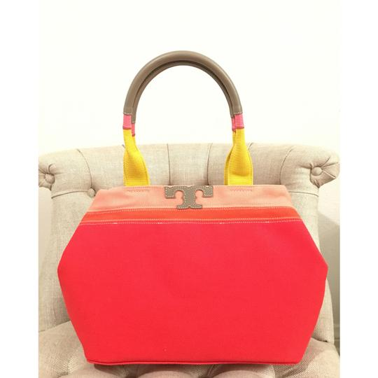 Tory Burch Tote in Vermillion Image 4
