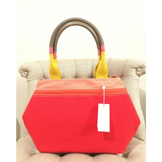 Tory Burch Tote in Vermillion Image 5