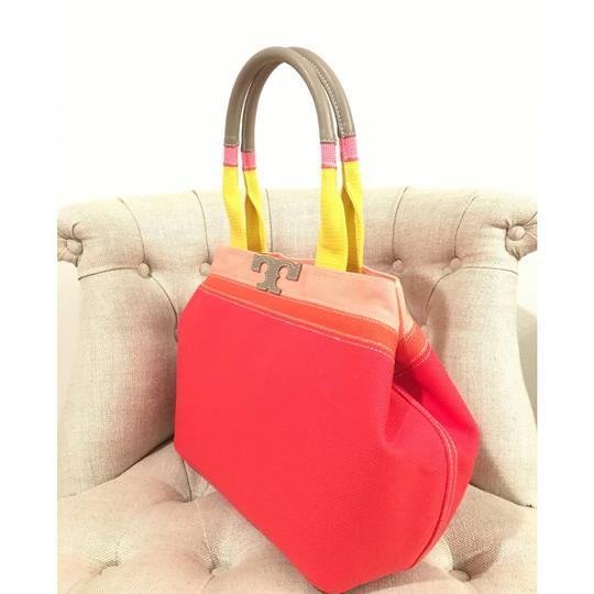 Tory Burch Tote in Vermillion Image 6