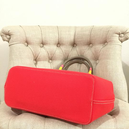 Tory Burch Tote in Vermillion Image 7