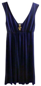 Trina Turk short dress Blue Jersey Mini Swim Resort on Tradesy
