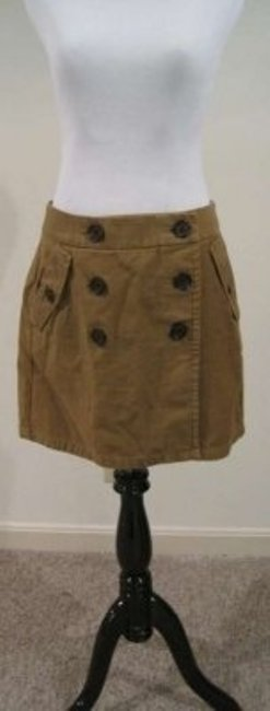 J.Crew Casual Fall Spring Winter Casual Work Skirt Brown