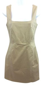 Dolce&Gabbana short dress Dolce & Gabbana Khaki Sheath on Tradesy