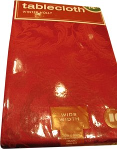 Red Damask Tablecloth (Rectangle [Oblong] 46