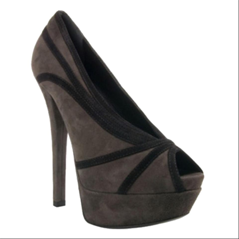 Fendi jardin grey black platforms on sale 63 off for Jardin 63