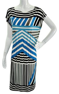 London Times Striped Dress
